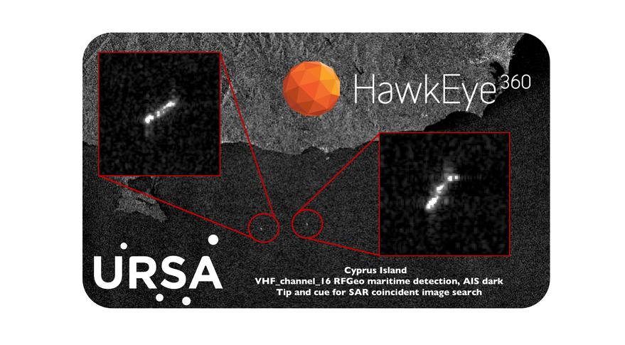 Ursa Space Systems and HawkEye 360 fuse radar, RF