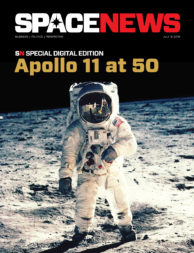 Link to SpaceNews Apollo 11 at 50 special digital edition