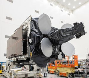 Spacecom's Amos-17 launching in August • OneWeb hits satellite testing milestones • Telebras cleared to issue new stock