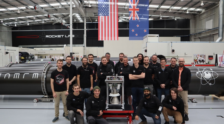 100th Rutherford engine at Rocket Lab