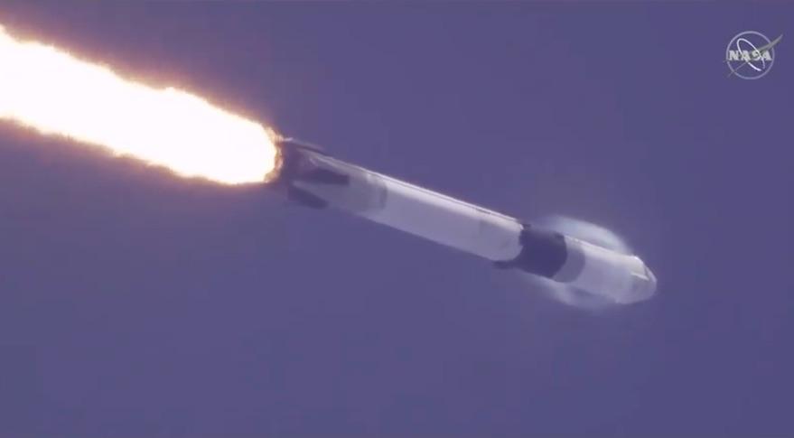 Falcon 9 CRS-18 Dragon launch