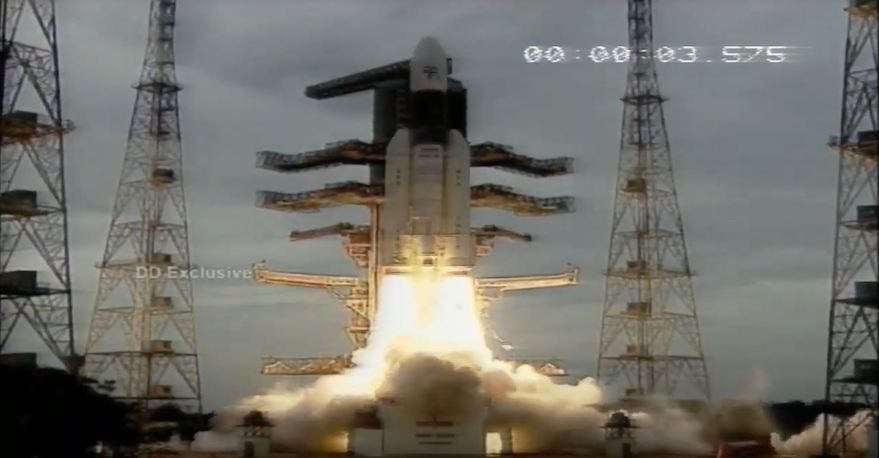 A Historic Day For Space Science And Tech In India As A Craft Is Sent To The Moon