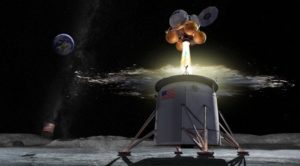 nasa outlines plans for lunar lander development through commercial partnerships