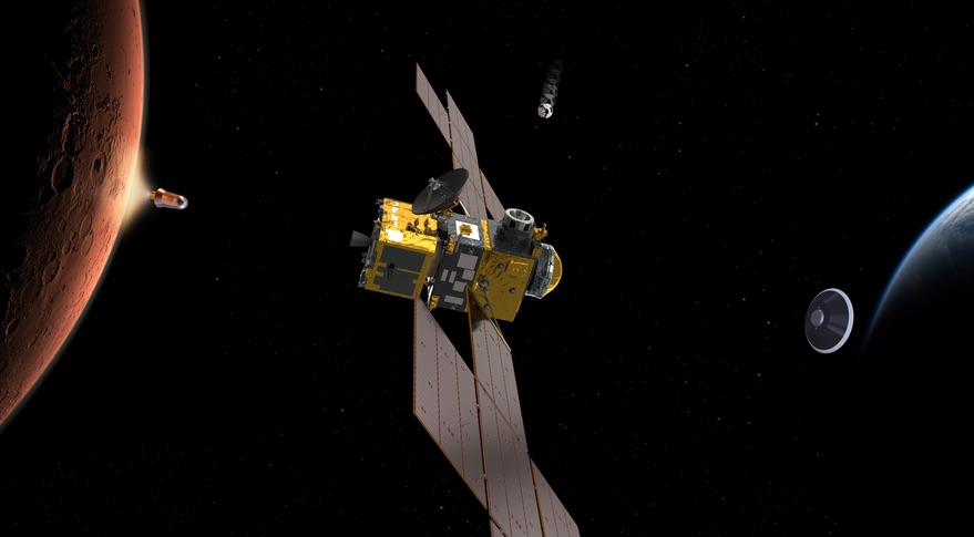 Mars sample return orbiter