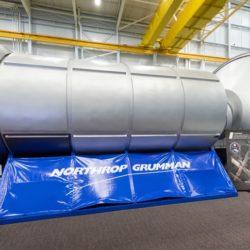 Northrop habitation module mockup