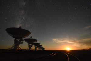 Radio astronomers worried