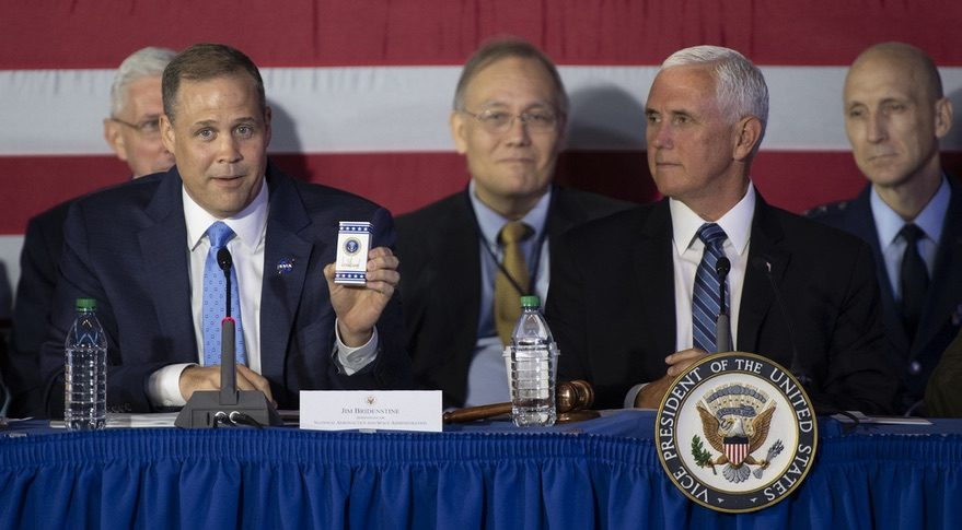 Bridenstine and Pence