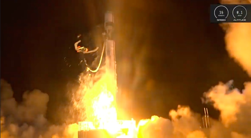 Electron Flight 8 launch