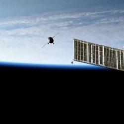Soyuz MS-14 approach
