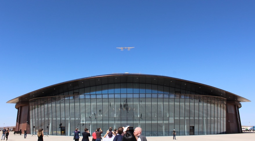 Virgin Galactic's Spaceport America is no longer an empty hangar