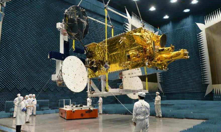ChinaSat-18 undergoing testing.