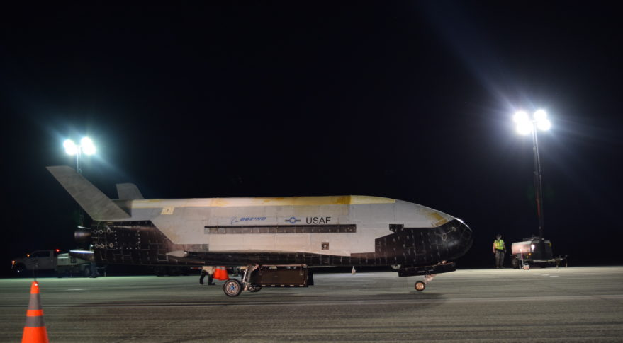 Air Force's Secretive X-37B Space Plane Lands In Florida