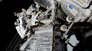 nasa astronauts complete repairs on historic spacewalk