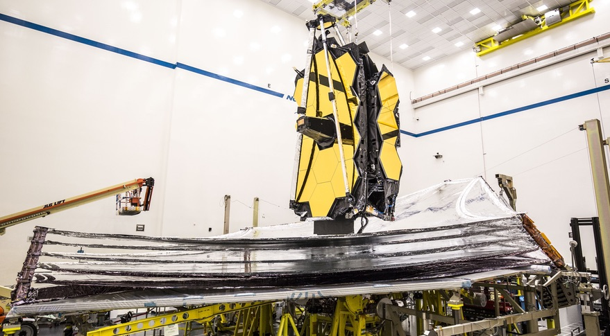 JWST sunshield deployment