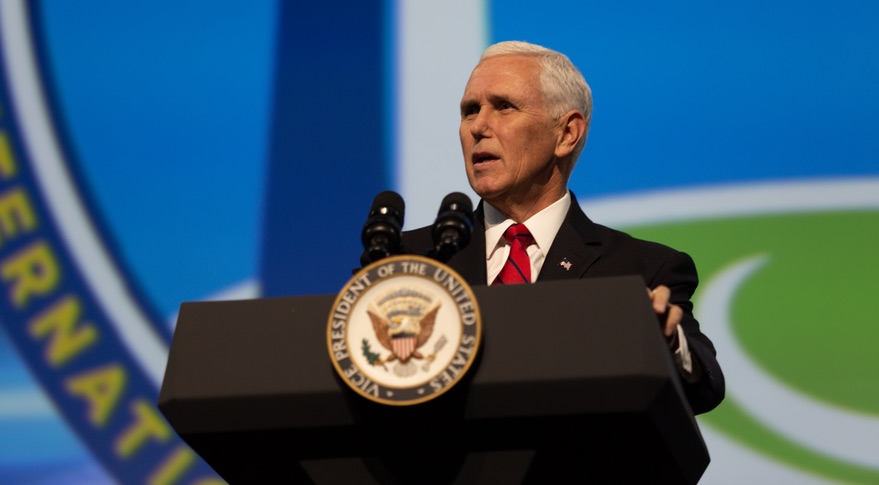 Pence at IAC