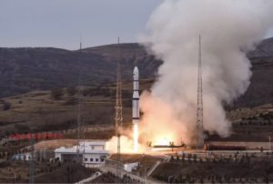 A Long March 6 kerolox rocket lifts off from Taiyuan Satellite Launch Center, Nov. 13. Credit: SAST