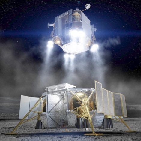 Boeing lander