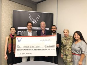 Capella wins Air Force small business contract