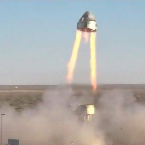 Starliner pad abort liftoff