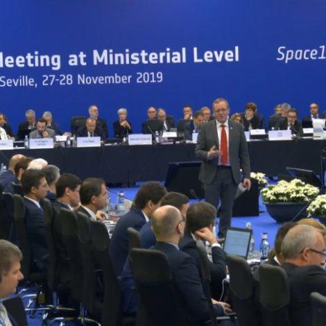 Woerner at Space19+ ministerial
