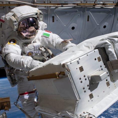 Parmitano spacewalk