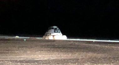 Starliner after landing