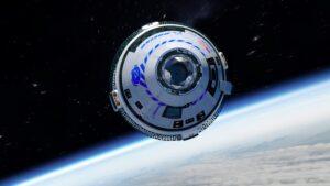 Starliner in orbit