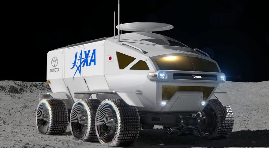JAXA Toyota rover