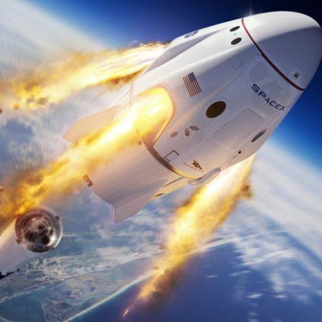 Crew Dragon in-flight abort