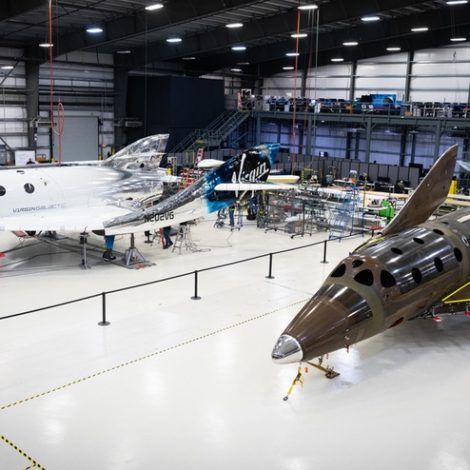 SpaceShipTwo fleet