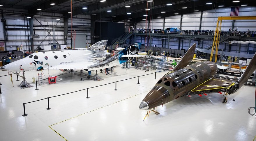 SpaceShipTwo fleet