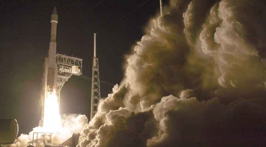 Atlas 5 solar orbiter launch