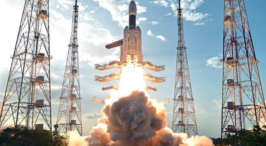 GSLV Mk III liftoff