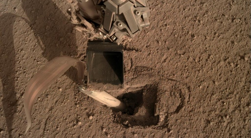 InSight to try to push mole into Martian surface - SpaceNews
