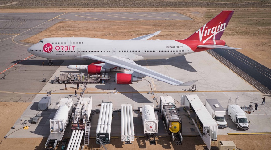 Virgin Orbit's space launch business deemed 'essential service,' work allowed to continue at Long Beach - SpaceNews.com