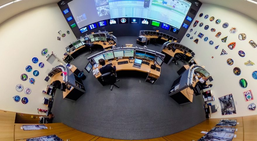 ESA mission control