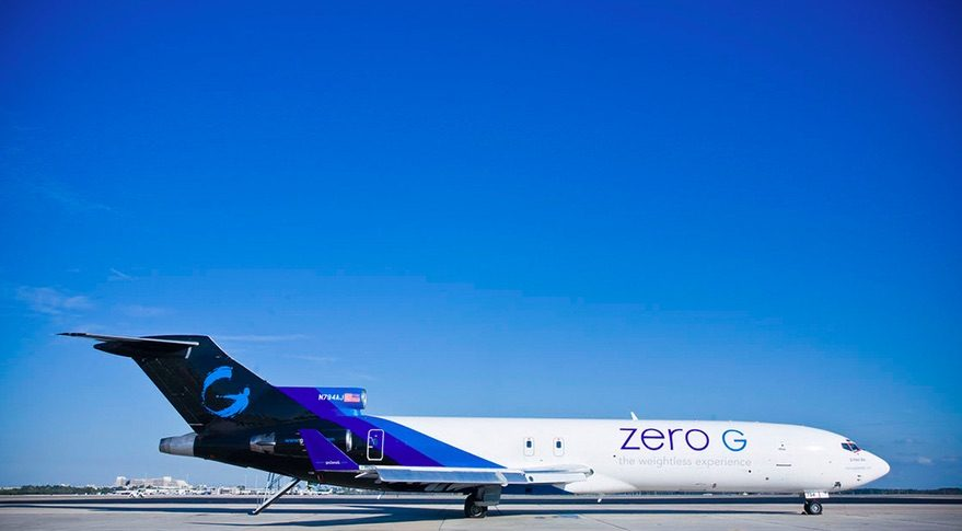 Zero-G Boeing 727