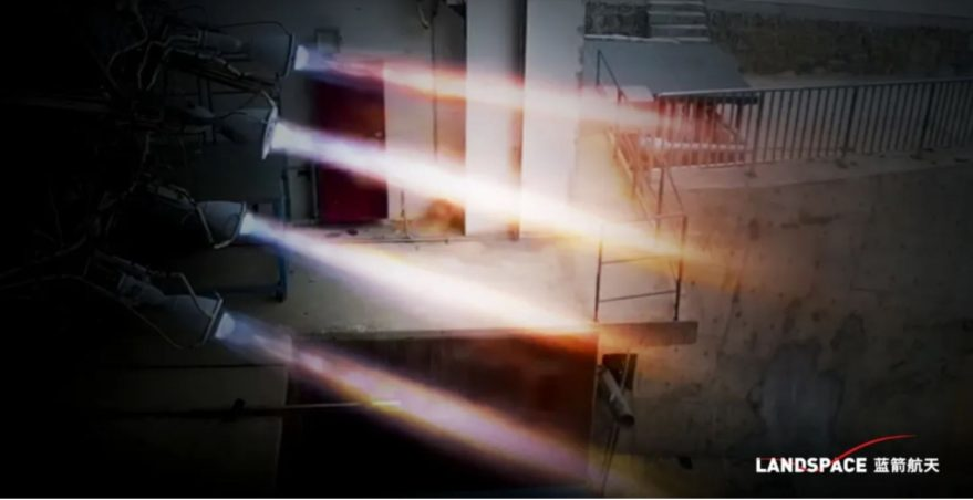 Hot fire testing of TQ-11 methalox engines in March 2020.