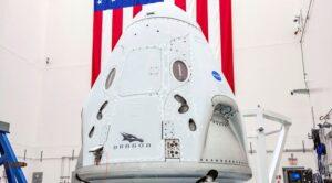 Crew Dragon spacecraft