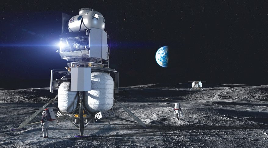 NASA shares $28bn plan to return humans to Moon in 2024