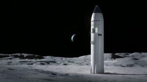 Starship lunar lander