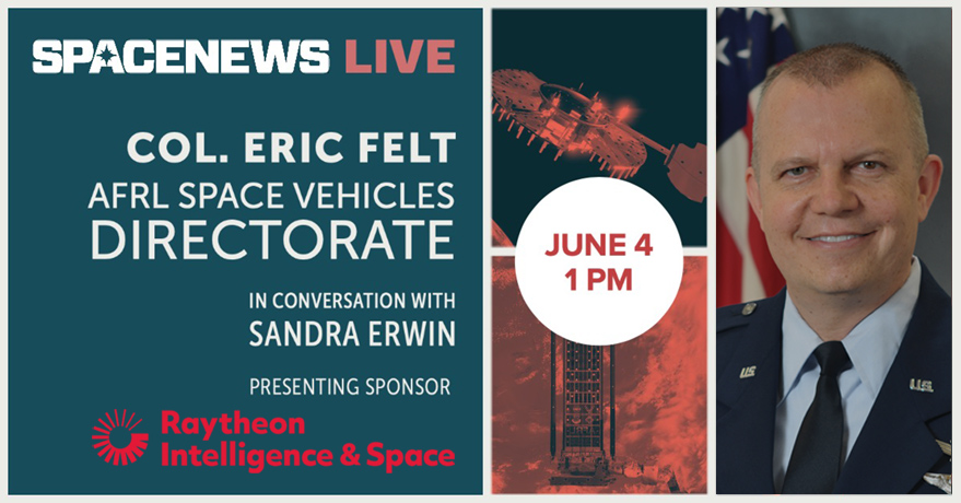 SpaceNews Webinar | Nurturing Key National Security Space Technologies