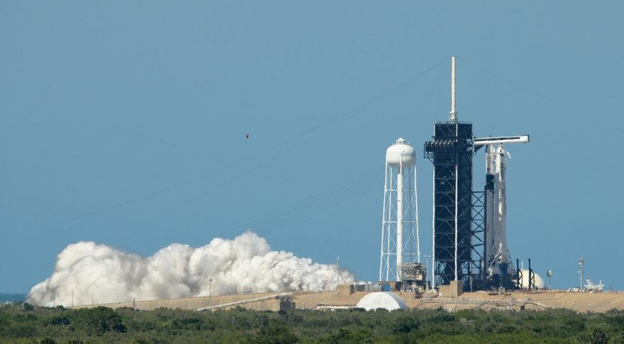 SpaceX test-fires rocket for epic astronaut launch for NASA on May 27