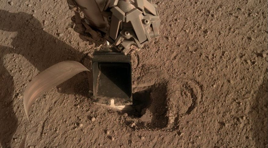 InSight Mole, May 2020