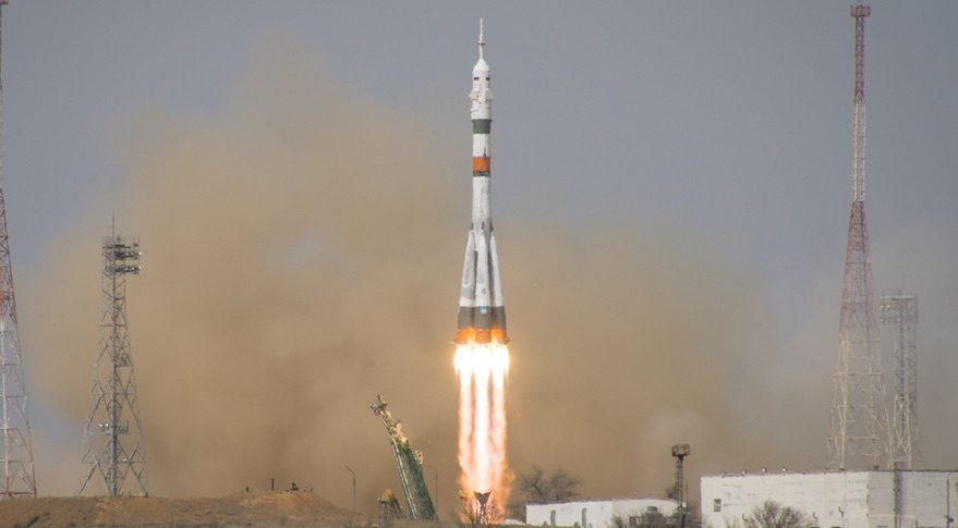 Soyuz MS-16 launch