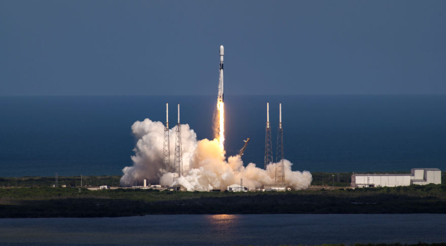 SpaceX launches a U.S. Space Force GPS 3 satellite, recovers rocket's first stage