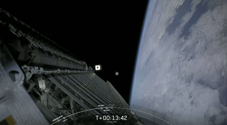 SpaceX Launching Another Batch Of Internet Satellites This Weekend