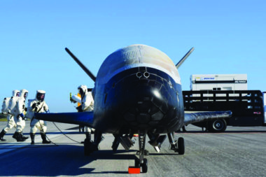 Military spaceplane experiment sheds light on space solar satellites