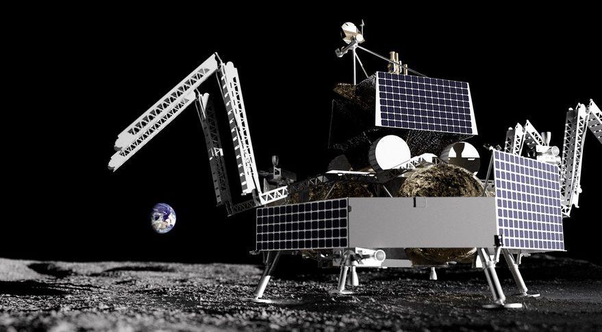 VIPER atop Griffin lander