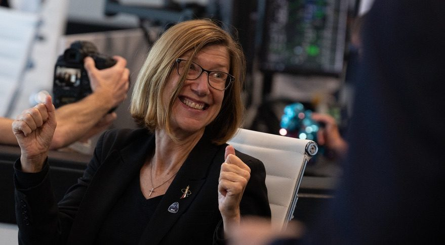 NASA names first woman to head human spaceflight